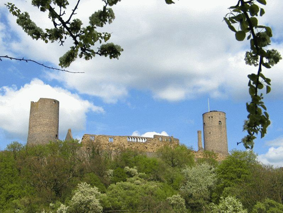 Burgruine Münzenberg